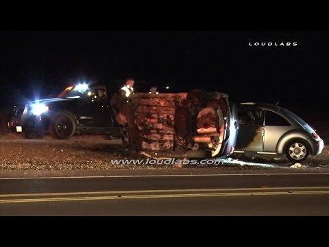 Fatal Traffic Collision / Adelanto  RAW FOOTAGE