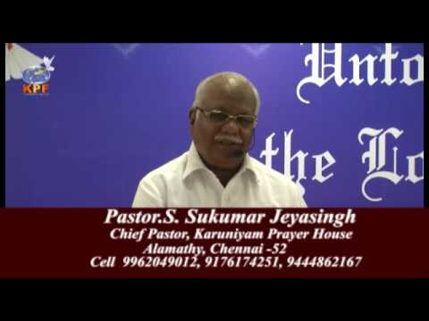 PAstor Sukumar Jeyasinghs Sowing and Reward