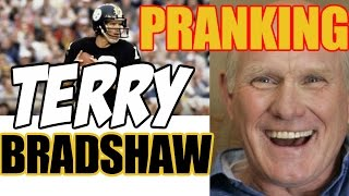 Pranking TERRY BRADSHAW - NFL LEGEND - Tom Mabe