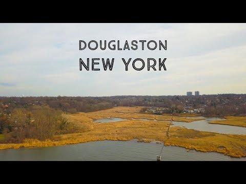 New York 4k UHD - Douglaston NY - DJI MAVIC PRO footage