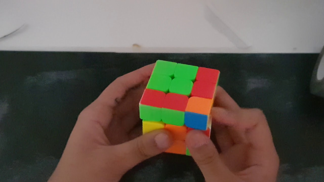 How to Solve the First Side (Face) of a Rubik's Cube