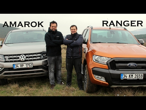 VW Amarok V6 vs Ford Ranger Wildtrack - Karşılaştırma