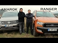 VW Amarok V6 vs Ford Ranger Wildtrack - Kar??la?t?rma