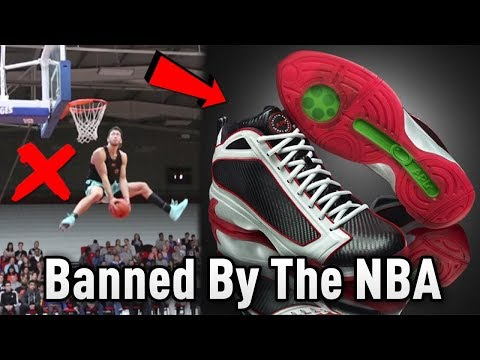 The Shoes That Could Make You JUMP HIGHER But Was BANNED By The NBA!