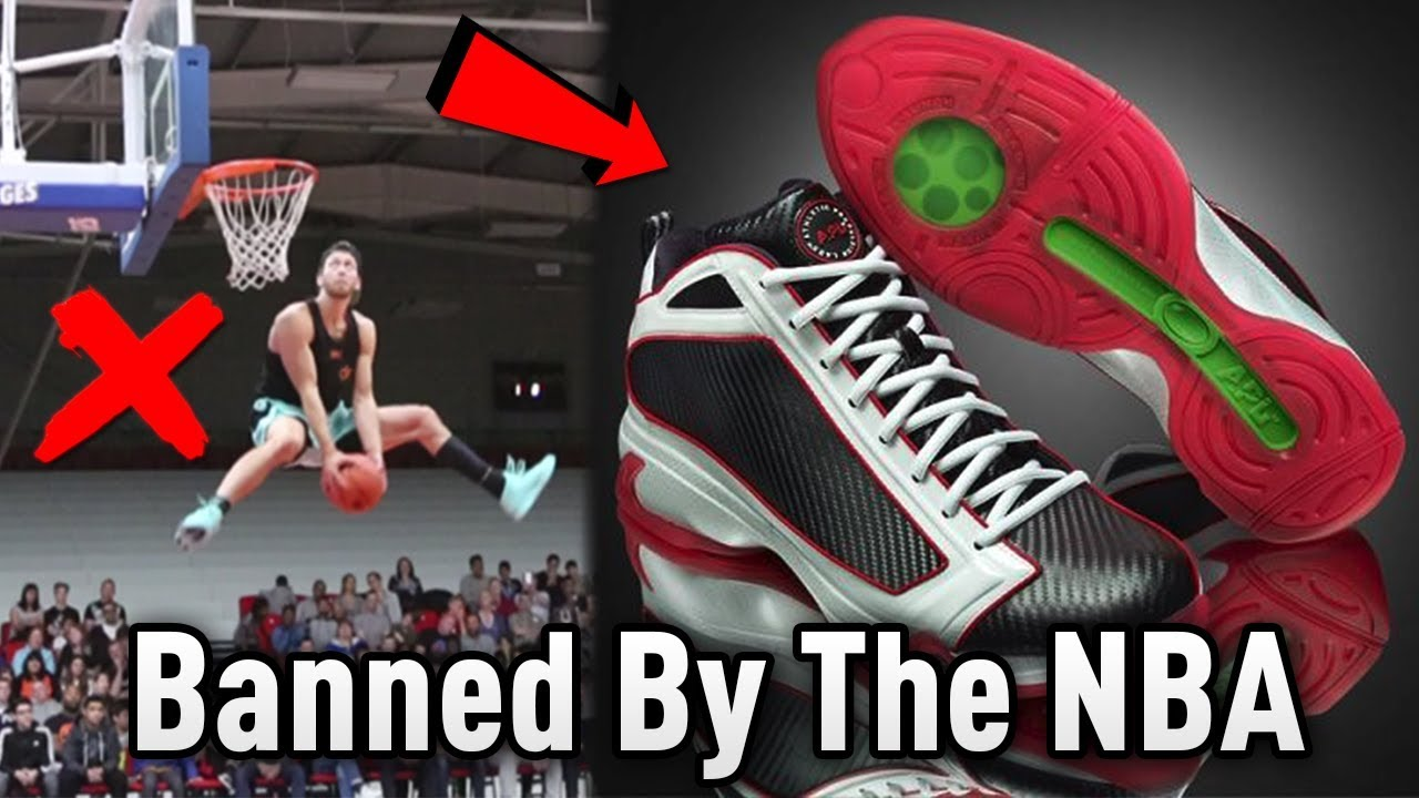 basketball shoes with springs