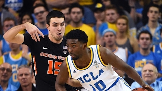 Highlights: No. 10 UCLA men's basketball rolls past Oregon State