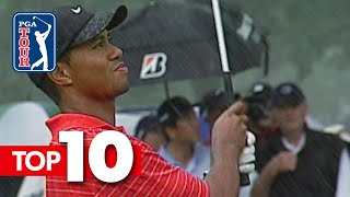 Download Tiger Woods' top-10 all-time shots in World Golf Championships Mp3 and Videos