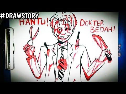 Asal Usul Hantu Dokter Bedah || DRAWSTORY
