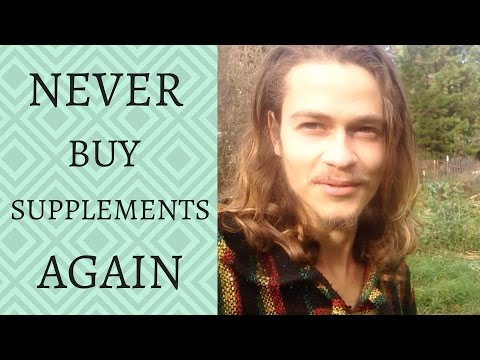 STOP PAYING FOR SUPPLEMENTS - EAT WILD HERBS INSTEAD