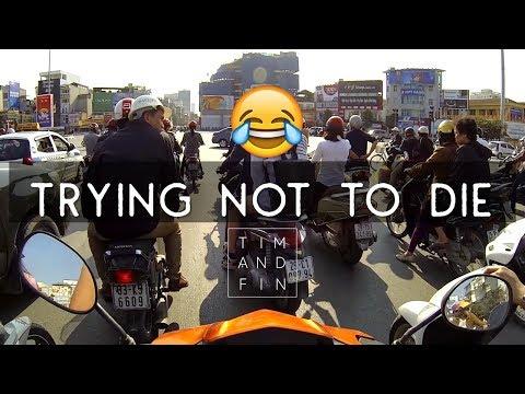 HOW TO MOTORBIKE IN VIETNAM ...AND SURVIVE?! | Hanoi, Vietnam Insane Traffic | Funny Riding Advice