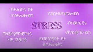 Projet Résilience UQAM: Stress et adaptation