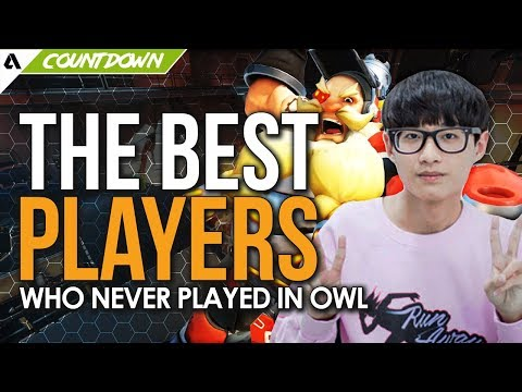 Top 5 Players Who Never Played in the Overwatch League