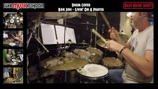 Bon Jovi - Livin' On A Prayer - DRUM COVER