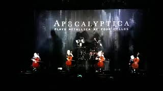 Apocalyptica - Enter Sandman/Master Of Puppets   Buenos Aires - Argentina 7-12-2017