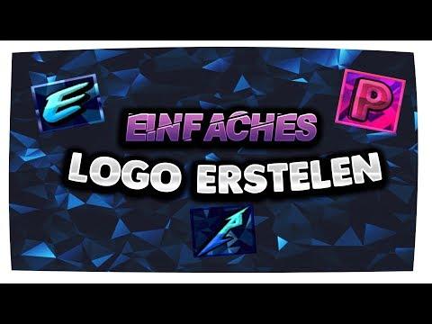 EINFACHES LOGO ERSTELLEN // MINECRAFT UND YOUTUBE // DEUTSCH // VENIX