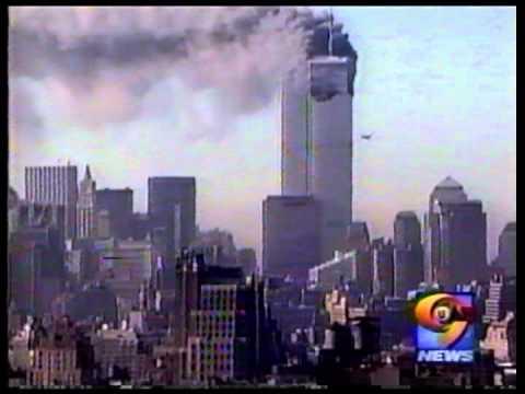UPN9 NY 9/11/2001 news coverage ~ 11:07 am