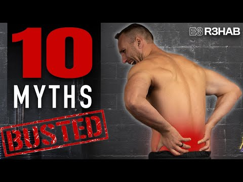 Low Back Pain (10 Myths BUSTED)