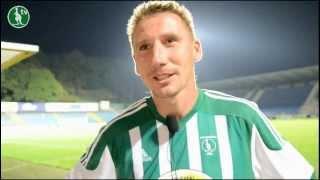 25.08.2012 FC Fastav Zlín - Bohemians 1905 0:1 (0:0), pozápasové rozhovory