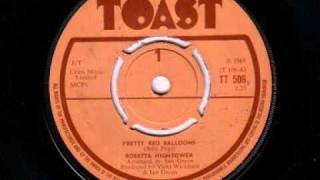 Rosetta Hightower - Pretty Red Balloons, Toast Records 1968