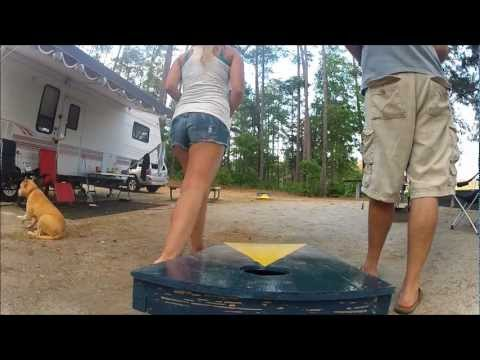 Camping striper tournament clarks hill youtube for Clarks hill fishing report