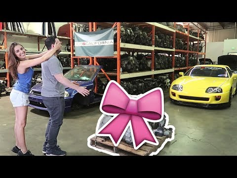 I ACTUALLY Bought My Best Friend His Dream Motor *Emotional*