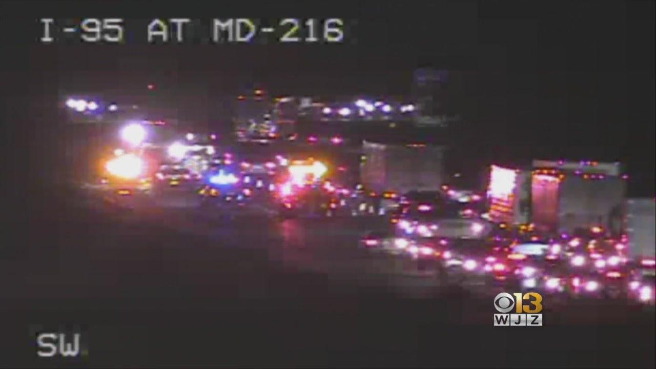 Fatal Crash In Howard County Shuts Down I -95 Near MD-216
