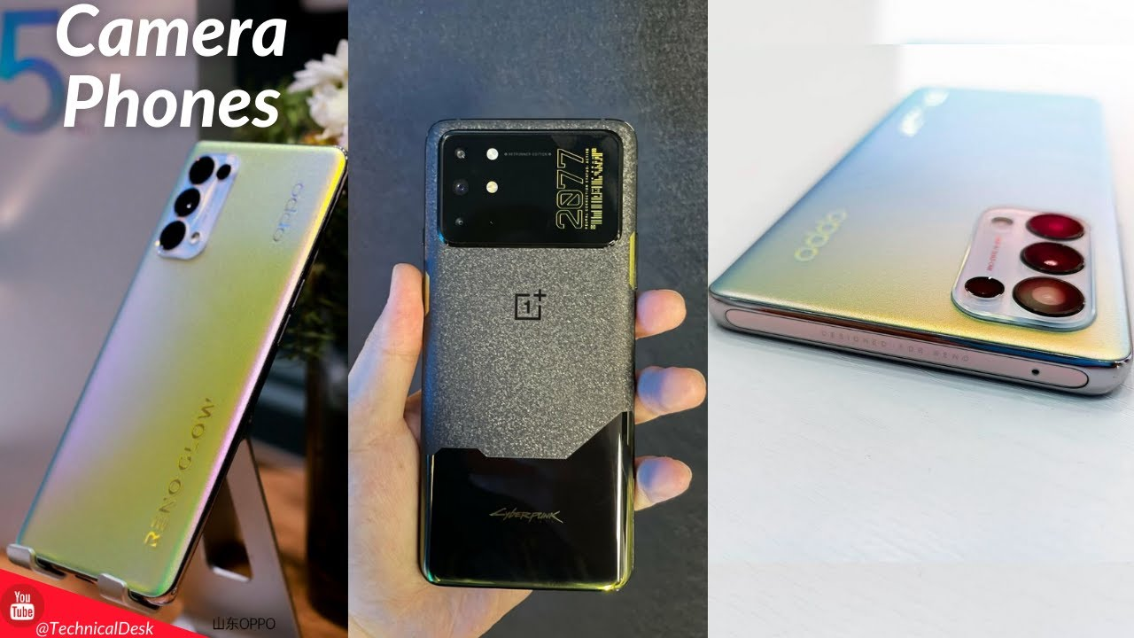 Top 5 Best Camera Smartphones in World 2021