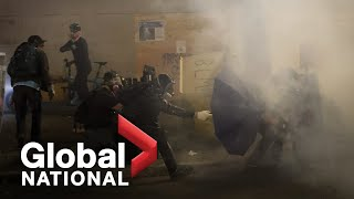 Global National: July 26, 2020 | Racial justice protesters face off with U.S. federal agents