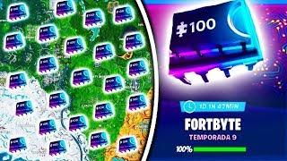 Alle Fortbytes entsperrt in Fortnite!! Sehen Sie das versteckte Bild, das das Puzzle zeigt