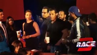 Salman Khan With Girlfriend Iulia Vantur At Allah Duhai Hai Song Launch | RACE 3