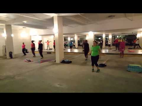 Outdoor Fitness Bahamas am session