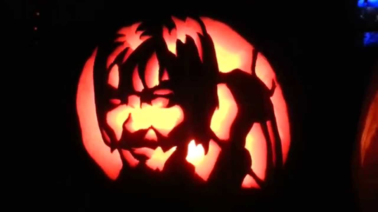 Daryl dixon walking dead pumpkin carving youtube