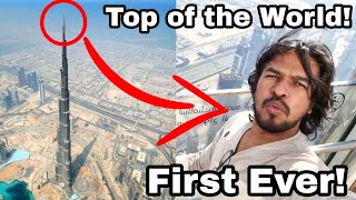 FIRST EVER: Top of World's Tallest Building! | Madan Gowri | MG
