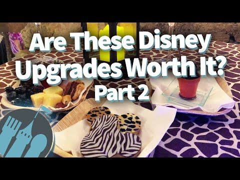 Are These Disney World Upgrades Worth The $$$? Part 2