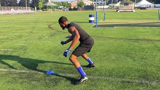 The Drill Factory: Wide Receiver Drills - The Drip