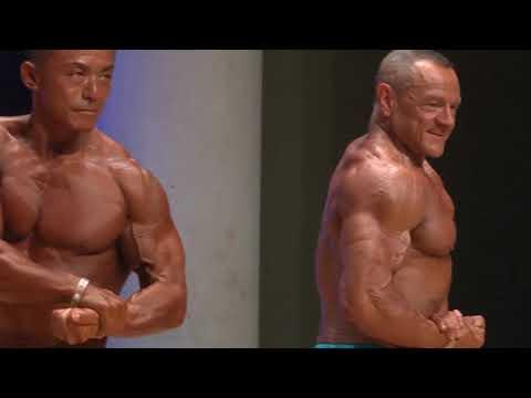 Men Bodybuilding Over 55 Years Up 75kg IFBB World Master 2019