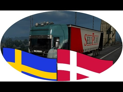 Crazy idiots in Euro Truck Simulator || Exploring Scandinavia First Time