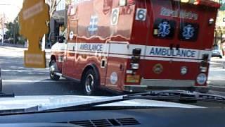 2013 4 26 Ambulance responding in Salem Oregon