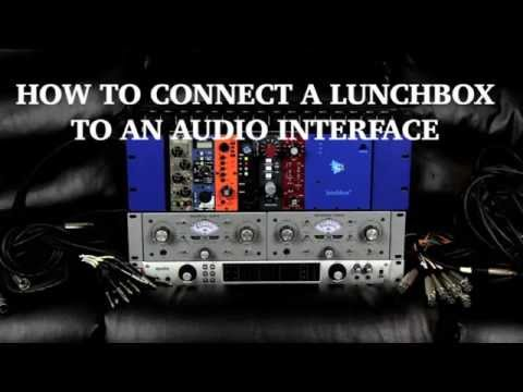 How To Connect A Lunchbox To A Home Studio