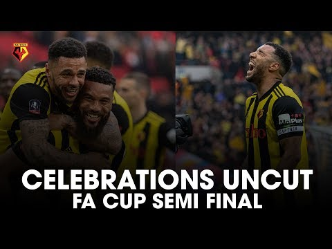CELEBRATIONS UNCUT | WATFORD ARE IN THE FA CUP FINAL 🏆