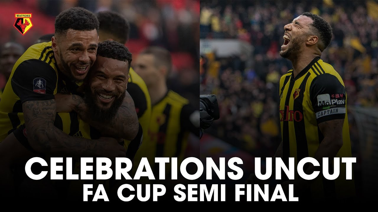 celebrations uncut watford are in the fa cup final. Black Bedroom Furniture Sets. Home Design Ideas