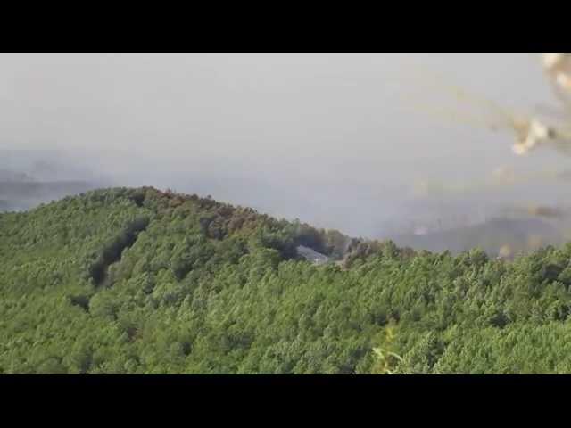 Resumen incendio Acebo, día 2. Un trabajo de JP FILMS