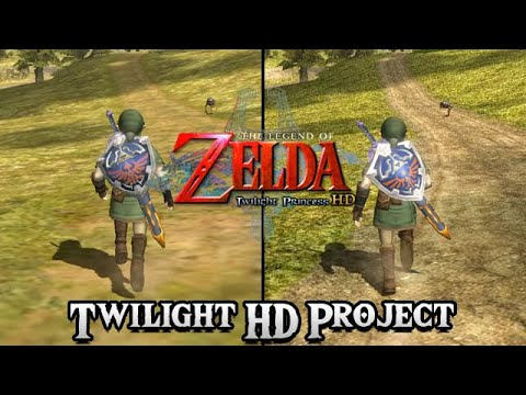 Zelda: Twilight Princess HD Project - Trailer (Gamecube & Wii)