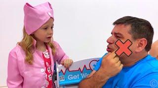 أفضل القصص التعليمية والأخلاقية للأطفال حول كيفية عدم المرض من ناستيا وأبي