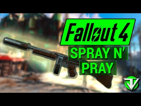 FALLOUT 4: How To Get SPRAY N' PRAY Submachine Gun in Fallout 4! (Unique Weapon Guide)