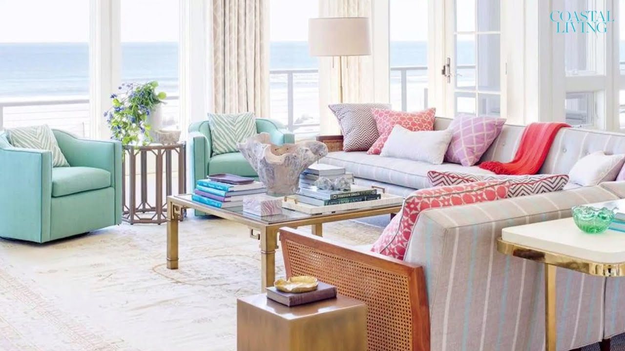 Superbe 10 Living Rooms With Coastal Style | Coastal Living