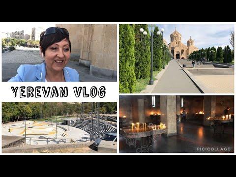 Yerevan Vlog. Дела. Скейт Парк В Ереване. Самая Большая Церковь В Армении.