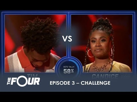 Tim vs Candice: This CRAZY Battle Will Give You GOOSEBUMPS!  S1E3  The Four