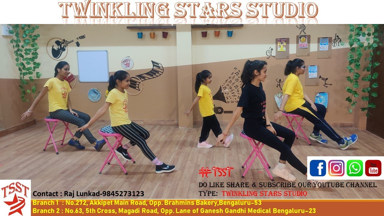 #TSST #KidsDanceBatch K5 #RajLunkad #TwinklingStarsStudio
