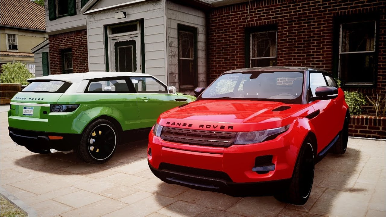 Gta Iv Range Rover Evoque Hd Youtube